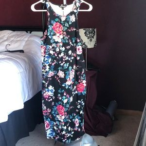 Express midi tank dress